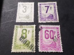 FRANCE LOT 4 Timbres COLIS POSTAUX, N° 3, 6, 8 Et 16 Oblitérés, VF Stamps - Oblitérés