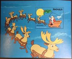 Anguilla 1981 Christmas Disney Minisheet MNH - Anguilla (1968-...)