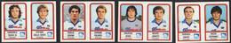 Stikers Panini 1983-84 Calcio Football Pescara Rossi Joriatti Cerona Polenta Dalla Costa Tacchi Caputi Cotroneo FAS00368 - Italian Edition