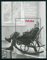 POLAND 2011 Czeslaw Slania Centenary Block MNH / **.  Michel Block 198 - Blocs & Hojas