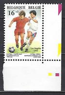 Cob 2541, A.Buzin, Footbal, Los Angeles 1994. Coin De Feuille ** - 1994 – Estados Unidos