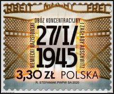 POLAND 2020  75th Anniversary Of The Liberation Of The German Nazi Concentration And Extermination Camp Auschwitz MNH** - Neufs
