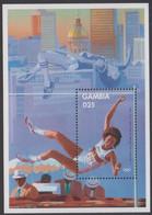 1984. GAMBIA. Olympics. Block. Never Hinged. (Michel Block 8) - JF422944 - Gambia (...-1964)