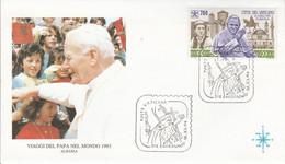 VATICAN 1993 VOYAGE PAPE JEAN PAUL II EN ALBANIE - Albania