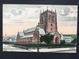 WHITEHAVEN Cumberland - St. Nicholas Church - 1907 - Phoenix Series 1771 - Cumberland/ Westmorland