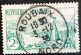 France - République Française -  P5/47 - (°)used - 1935 - Michel 296 - Bretons - Bretoens Landschap - Roubaix Nord - Usados