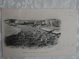 CPA BIARRITZ - Grande Plage - 1900 - Précurseur - DND - Biarritz