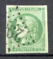BORDEAUX N° 42B Oblitéré TTTB - 1870 Bordeaux Printing