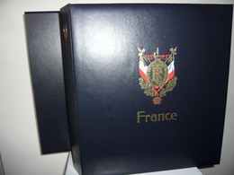 ALBUM DAVO  + FEUILLES DAVO  FRANCE 1994/98  + ETUI (vol. V) - Binders With Pages