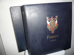 ALBUM DAVO  + FEUILLES DAVO  FRANCE CARNETS BLOCS + ETUI (vol. I) - Binders With Pages