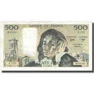 France, 500 Francs, Pascal, 1983, 1983-01-06, TB, Fayette:71.28, KM:156e - 500 F 1968-1993 ''Pascal''