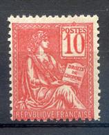 TYPE MOUCHON N°112 LUXE** GOMME ORIGINALE - 1900-02 Mouchon