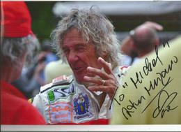 JX / PHOTO Originale  PUB Ancienne   SPORT AUTOMOBILE Rallye Auto Course VOITURE RALLYE Pilote à Determiner MERZARIO - Automobilismo - F1