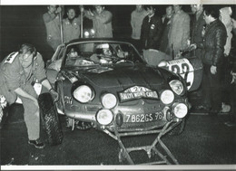 JX / PHOTO Originale  PUB Ancienne   SPORT AUTOMOBILE Rallye Auto Course VOITURE RALLYE MONTE CARLO 1971 - Car Racing - F1