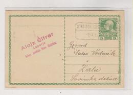 SLOVENIA,Austria 1913 WINDISCH FEISTRITZ SLOVENSKA BISTRICA Nice Postal Stationery ALOJZ SIFRER LAPORJE - Slovénie