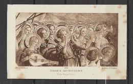 Image Pieuse Art Catholique N° 464  Anges Musiciens  - Fra Angelico.... - Devotieprenten