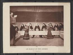 Image Pieuse Art Catholique N° 505  Le Miracle Des Anges  - Fra Angelico.... - Devotieprenten