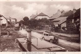 RANDEVILLERS  Centre Du Village - Otros Municipios