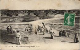 CPA AK SETIF Vue Generale Du Village Negre ALGERIE (1145450) - Setif