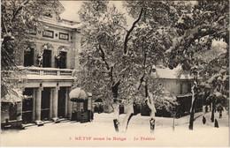 CPA AK SETIF Sous La Neige - Le Theatre ALGERIE (1145454) - Setif