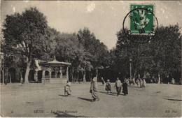 CPA AK SETIF La Place Nationale ALGERIE (1145456) - Setif