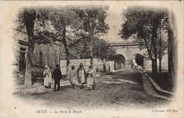 CPA AK SETIF La Porte De Bougie ALGERIE (1145462) - Setif