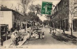 CPA AK SETIF Rue Sillegue ALGERIE (1145469) - Setif