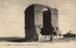 CPA AK SETIF Ruines Romaines Et Tombeau De Scipion ALGERIE (1145471) - Setif
