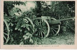 Camp De Coetquidan- En Manoeuvre-75 Camouflé - Autres Communes