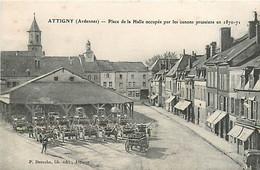 08* ATTIGNY   Canons Prussiens  (1870)                MA94,0808 - Attigny