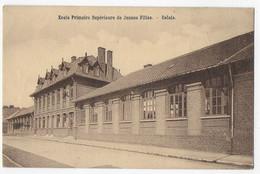 Cpa Bon Etat , école Primaire Supérieure De Jeunes Filles ,crayonnée Verso , Carte Rare - Calais