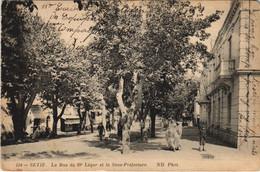 CPA AK SETIF La Rue Du 19e Leger Et La Sous-Prefecture ALGERIE (1145738) - Setif