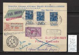 France - Madagascar - Le Bourget Aviation - Escale De Gao - 1929 - 1927-1959 Covers & Documents