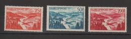 Sarre 1948 Vallée De La Sarre PA 9-11 3 Val. ** MNH - Aéreo