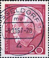 1186 Mi.Nr.429 BRD (1964) Wiederwahl Von Lübke Gestempelt - Usati