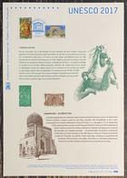 ⭐ France - Document Philatélique - Premier Jour - YT Nº 169 Et 170 - UNESCO - 2017 ⭐ - 2010-....