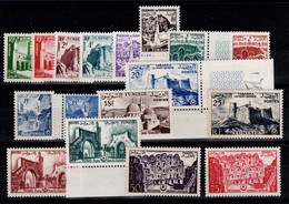 Tunisie - YV 366 à 382 N** MNH Complète , Cote 23+ Euros - Unused Stamps