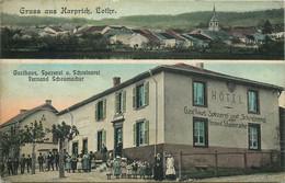 MOSELLE  HARPRICH   Hotel Restaurant  Gasthaus Spezerei Und Schreinerei - Autres Communes