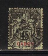 GABON N° 27 Obl. - Used Stamps