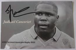 Judicaël CANCORIET - Dédicace - Hand Signed - Autographe Authentique - Rugby