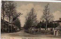 Grisolles- Avenue De La Republique -toilée - Grisolles