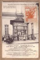 BELGIQUE - EXPOSITION DE LIEGE 1905 , VIGNETTE - DEGUSTATION CIDRERIE J. RUWET A THIMISTER , AGENT HENRARD DISON - Lüttich