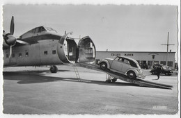 Cpsm Bon Etat , 9x14cm , Calais-marck, L'aérodrome , Courrier Au Verso, Carte Rare - Calais