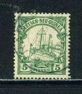 GERMAN NEW GUINEA  -  1901 Yacht  Definitive 5pf Used As Scan - Colony: German New Guinea