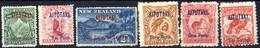 * 1903, Landschaften, Komplette Serie 6 Werte, Ungebraucht, Alle Werte Mit Rostflecken In Der Zähnung, SG 1-3 5-7 Mi. 1- - Aitutaki