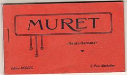 D31  MURET  Carnet Complet De 12 Cartes Numérotées 1 à 12  ( Scanné Partiellement Pour Ne Pas Abimer Le Carnet ) - Muret