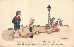 Illustrateurs - N°78206 - Poulbot N°20 - Quatre Jours De Permission ... Mon Capitaine - Poulbot, F.