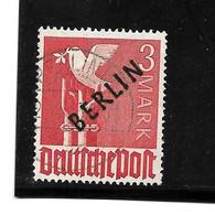 BERLIN Mi.Nr. 19 - 3 Mark Schwarzaufdruck O - Oblitérés