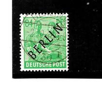 BERLIN Mi.Nr. 16 - 84 Pfg.  Schwarzaufdruck O - Oblitérés