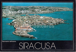 Siracusa - Panorama Dall'aereo - View From The Airplane - 14492 - Italy - Unused - Siracusa
